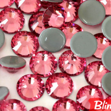 Iron-on DMC Rhinestones Glass Cut Flat Back